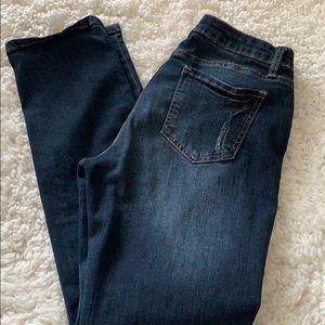 Distressed I &M jeans